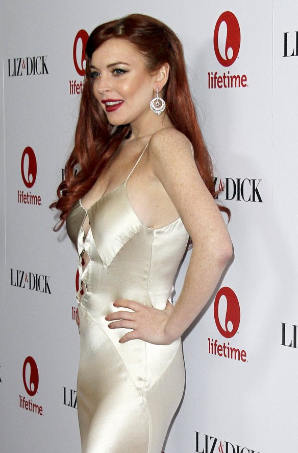 Lindsay-Lohan-dress
